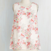 ModCloth Mid-length Sleeveless Week to Boutique Top