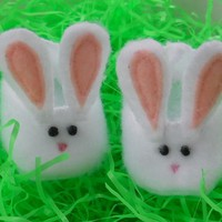 18 inch Doll Clothes for the American Girl - Bunny Slippers