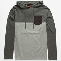 Billabong Shifty Mens Lightweight Hoodie Heather Black  In Sizes