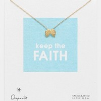 Dogeared 'Reminder - Keep the Faith' Boxed Pendant Necklace   Nordstrom