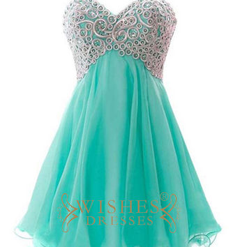 Embroidery Prom Dress AM505
