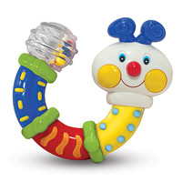 Melissa & Doug Twisting Inchworm Rattle Baby Toy