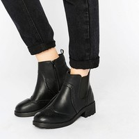 New Look Chunky Chelsea Boots at asos.com