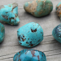 "ARIZONA TURQUOISE ""Sky Stone"" - Symbol of Spiritual Wisdom, Blessing, Good Fortune & Peace"