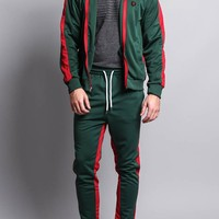 Men's Side Striped Track Suit