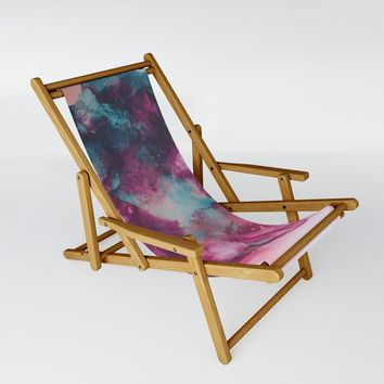 Nobody Else Sling Chair by duckyb
