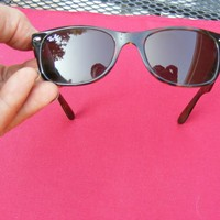 EXCELLENT MENS NEW WAYFARER RAYBAN SUNGLASSES MADE IN ITALY 902 52018 145 3N