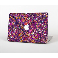 """The Shards of Neon Color Skin Set for the Apple MacBook Pro 13"""" with Retina Display"""