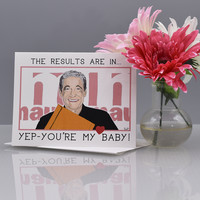 """You're My Baby """"Maury"""" Valentine Love Card"""