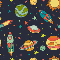 Removable Wallpaper - The Final Frontier