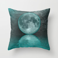 MOON FANTASY Throw Pillow by Catspaws