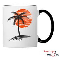 Palm Tree Coffee & Tea Mug