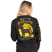 Buckle Up Buttercup - SS - F20 - Adult Long Sleeve