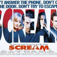 Scream (UK) 11x17 Movie Poster (1996)
