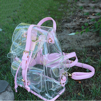 Jelly Shoulder Bag Summer New Transparent Bags Korean Version Casual Female