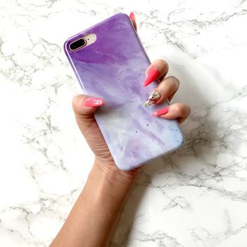 Marble iPhone Case COSMIC SKY Marble Case iPhone X Case iPhone 8 Plus Case iPhone 7 Plus 6 6s Case Best Friend Gift for Her Phone Case Cover