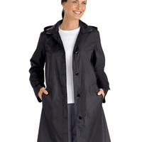 Water Proof Long Sleeve Trench Raincoat