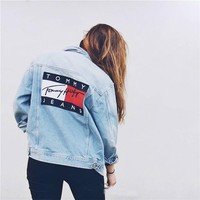 Tommy Jeans For UO Boyfriend Denim Jacket