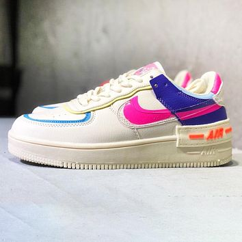 Nike Air Force 1 AF1 Women Casual Flat Running Sport Shoes Sneakers