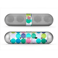 The Vibrant Colored Polka Dot V2 Skin for the Beats by Dre Pill Bluetooth Speaker