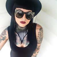 Victorian Mourning Sunglasses