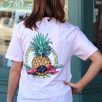 Southern Hospitality Tee by LAUREN JAMES {Pink}