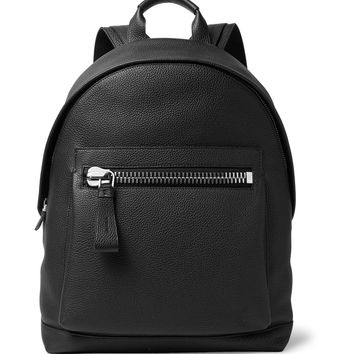 TOM FORD - Buckley Pebble-Grain Leather Backpack
