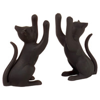 You should see this Curious Cat Bookend in Black (Set of 2) on Daily Sales!