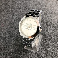 NEW YORK COACH WATCH WRISTWATCH FASHION STYLISH DESIGN