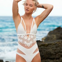 Free People Grenada Lace One Piece Swimsuit