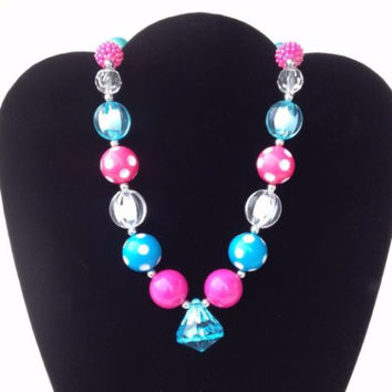 The Cotton Candy Bubblegum Necklace