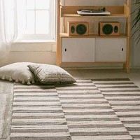 Abbey Offset Stripes Wool Rug