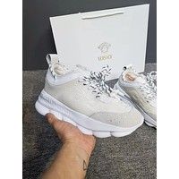 Versace Chain Reaction Sneakers White