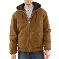 Sandstone Active Jac / Quilted Flannel Lined