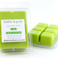 Sonic Screwdriver Scented Soy Wax Tart Melts - orange, lime - Doctor Who