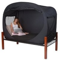 Amazon.com: Privacy Pop Bed Tent (TWIN): Home & Kitchen
