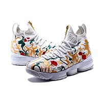 Nike LeBron James 15 XV Flower Basketball Shoe US7-12