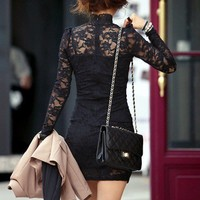 Clothes / black lace lbd....love this