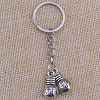 Double Boxing Gloves Keychain