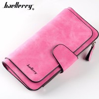 2018 Baellerry Card holder Women Wallet Long Quality Passport Cover Fashion Casual Female Purse Zipper Multi-function Coin Purse