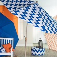 Valencia 9 ft. Push Button Tilt Patio Umbrella | www.hayneedle.com
