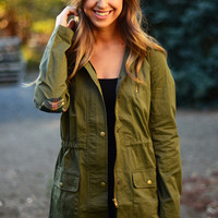 Back to You Military Jacket