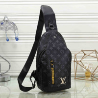 Louis Vuitton Fashion Leather Chest Bag Crossbody Shoulder Bag
