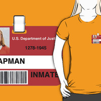 OITNB Prison ID badge by FullBlownShirts