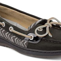 Sperry Top-Sider Angelfish Slip-On Boat Shoe Black/Zebra, Size 11M  Women's Shoes