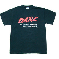 Vintage D.A.R.E T Shirt Resist Drugs and Violence