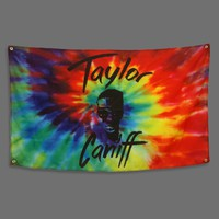 Taylor Face Tie Dye Flag : TCNF : MerchNOW - Your Favorite Band Merch, Music and More