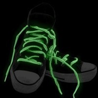 Bewild Brand 2 Pack Of Glow in the Dark Pair of Shoe Laces