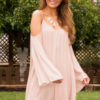 Scully Dress - Pale Blush