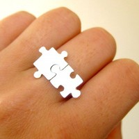 Puzzle Ring About Autism - 50% Sales go to Autism Society
